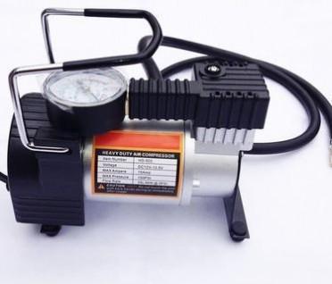 大功率单缸纯金属轮胎打气泵 汽车轮胎充气泵
