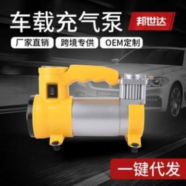 车载充气泵轮胎便携式汽车加气打气泵12v小轿车用多功能气泵
