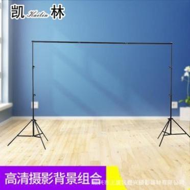 摄影器材2.8*3米弹簧铝合金摄影背景架摄影灯架背景布