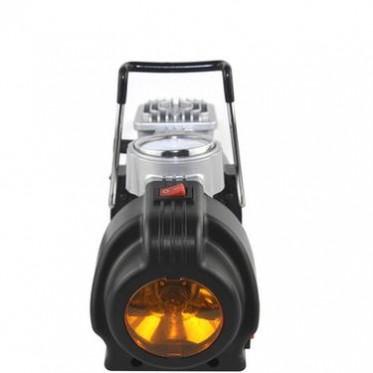 礼品 150PSI金属充气泵 带灯打气泵 便携式充气泵 多功能充气泵