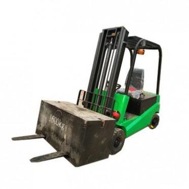 座驾式叉车铲叉两用电动堆高车车载式升高叉车1.5吨托盘堆高机