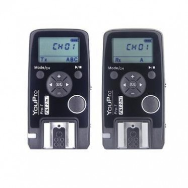引闪器 定时无线快门线 影室灯触发器 遥控器 收发一体适用索尼
