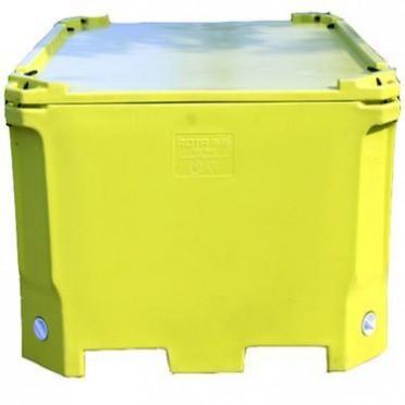 活鲜活鱼运输箱1000L渔业水产养殖海鲜保温箱冷藏箱远洋转运箱
