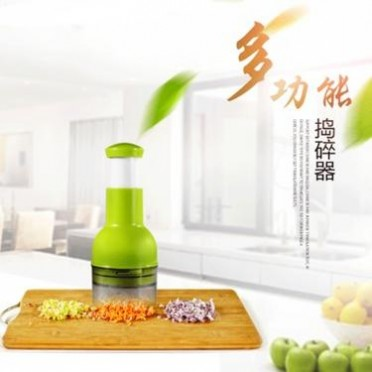 厂家直销 厨房工具 捣蒜器 多功能切碎器 切菜器 厨房用品