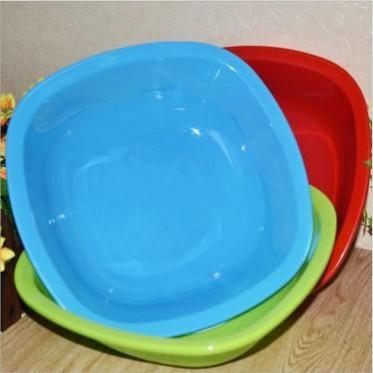 创意方形洗脸盆儿童面盆家用塑料洗菜洗衣盆洗脚盆