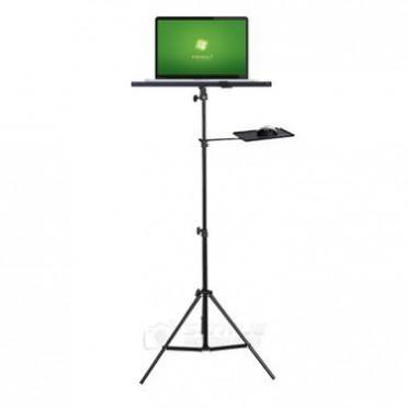 笔记本电脑ipad铝合金落地支架 平板投影仪落地可调升降三脚架