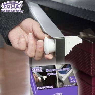 菲比FABE磁力锁 安全锁宝宝防护多功能儿童安全锁专利保障