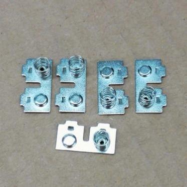 厂家定制热销电子五金件加工冲压五金件五金弹片加工弹簧电池弹片