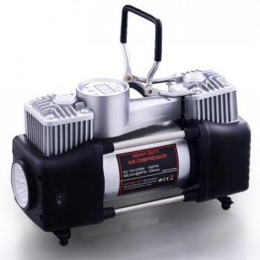 数显充气泵 汽车充气泵 带灯气泵 大功率汽车充气机 电动打气机
