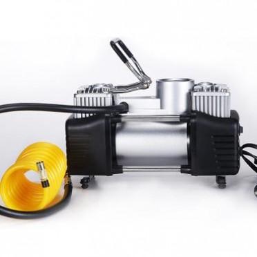 厂家批发2x30缸金属充气泵 车用充气泵 大功率双缸