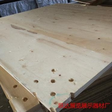 调节脚发光地台木质地台板展览车展厂家直销