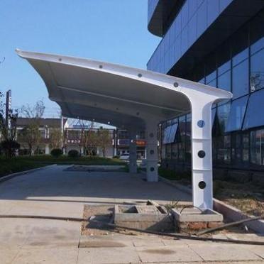定制膜结构汽车棚