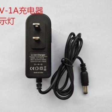 骏能11.1V12.6V1A单串锂电池充电器聚合物充电器指示灯