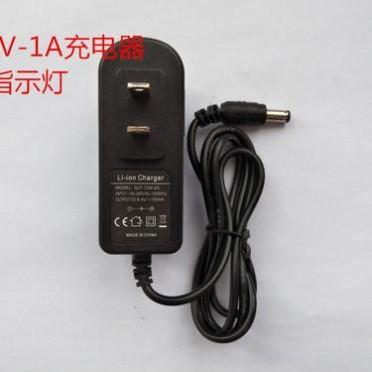骏能7.2V7.4V8.4V1A单串锂电池充电器聚合物充电器指示灯