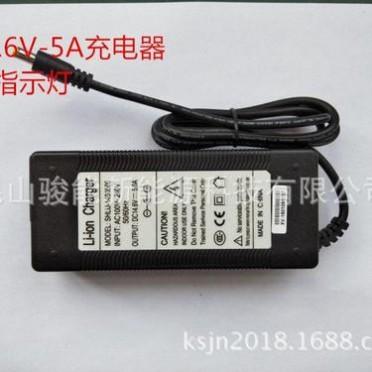 骏能14.6-5A4串磷酸铁锂电池充电器指示灯12V铁锂充电器