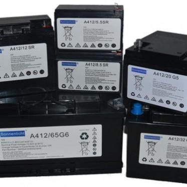 德国阳光A602/1010/2V1000AH原装进口胶体免维护UPS蓄电池