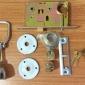 9472老式铁门锁 防盗锁 防盗铁门锁 插芯门锁