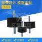 厂家供应橡胶减震器VV15*15 M4 带螺丝橡胶减震器 橡胶减震脚垫