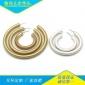 翰扬专业生产 60MM铜管耳环 环保铜管耳环 可来图打样定制