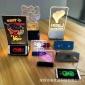 无线充充电餐牌发光led广告牌充电宝餐牌移动电源手机充电宝台卡
